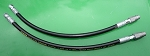 JOHN DEERE 140 300 312 317 318 400 420 430 PLOW BLADE ANGLE KIT CYLINDER HOSES  Zinc Coated Quick Couplers    ***LIMITED***