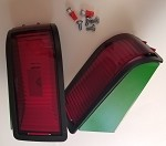 Complete Tail Light Set w/ Guards & LED's  John Deere 415, 425, 445, 455